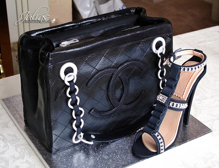 Classic Chanel Bag & Shoe